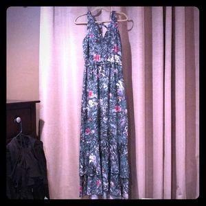 NWT Beautiful Tropical H&M Maxi Dress